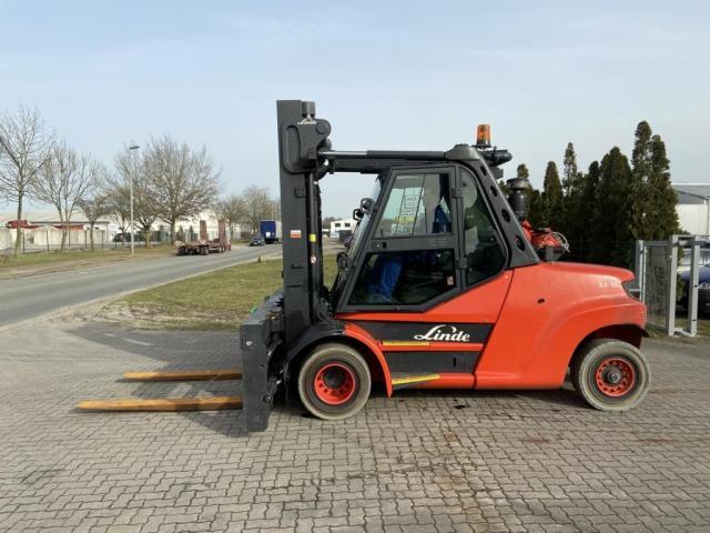 Linde H80T-02-1100 Gabelstapler 8000kg - 1