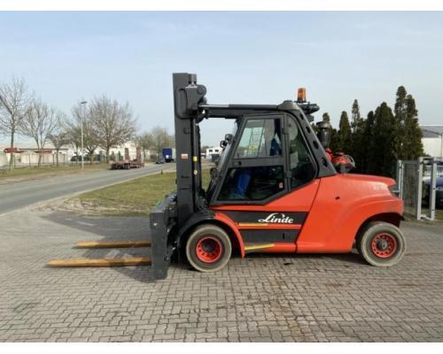 Linde H80T-02-1100 Gabelstapler 8000kg - Bild 1