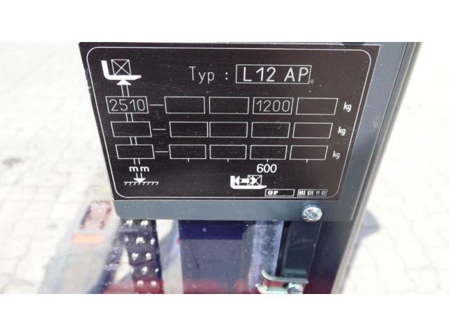 Linde L12AP Lagertechnik 1200kg - 10