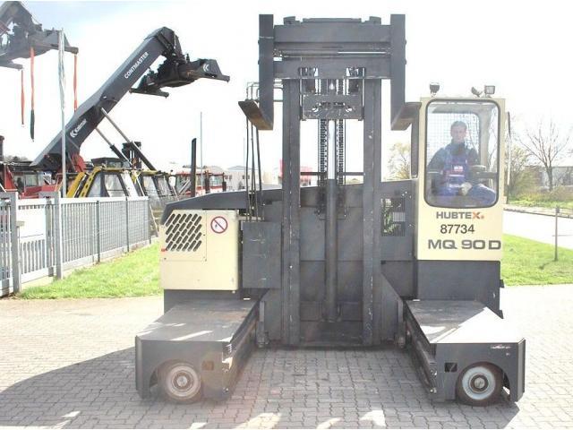Hubtex MQ90D Vierwege Seitenstapler 7000kg - 1