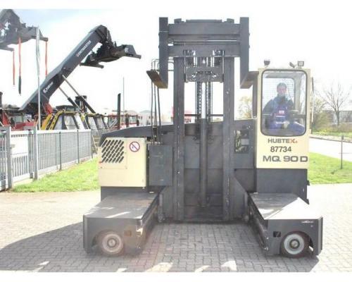 Hubtex MQ90D Vierwege Seitenstapler 7000kg - Bild 1