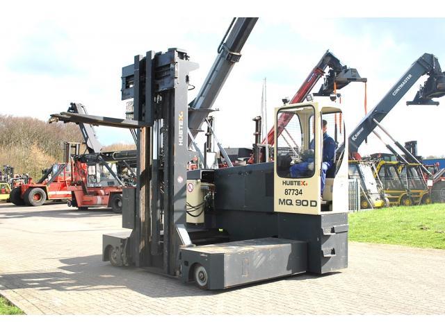 Hubtex MQ90D Vierwege Seitenstapler 7000kg - 2