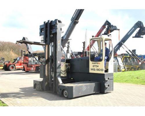 Hubtex MQ90D Vierwege Seitenstapler 7000kg - Bild 2