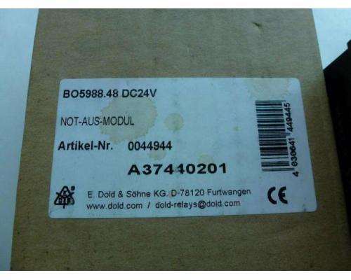 Not-Aus-Modul B05988.48 safemaster - Bild 3