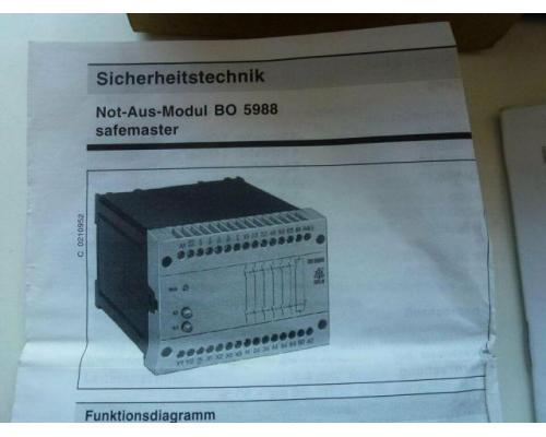 Not-Aus-Modul B05988.48 safemaster - Bild 4