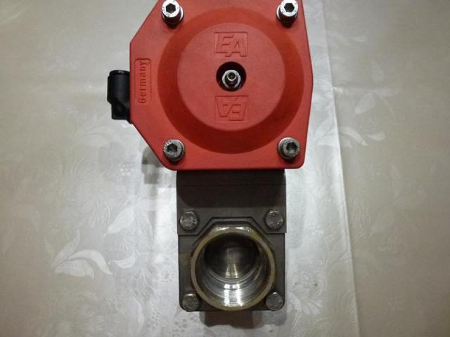 Schwenkantrieb EMD EE620702 pneumatisch federrücks.mit Kugelhahn - 2