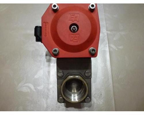 Schwenkantrieb EMD EE620702 pneumatisch federrücks.mit Kugelhahn - Bild 2