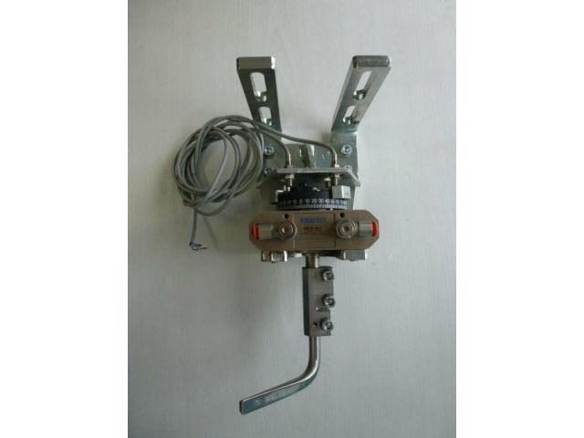 Schwenkantrieb EMD EE620702 pneumatisch federrücks.mit Kugelhahn - 9