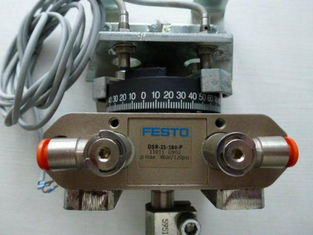 Schwenkantrieb EMD EE620702 pneumatisch federrücks.mit Kugelhahn - 10