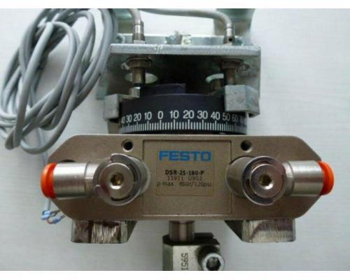 Schwenkantrieb EMD EE620702 pneumatisch federrücks.mit Kugelhahn - Bild 10