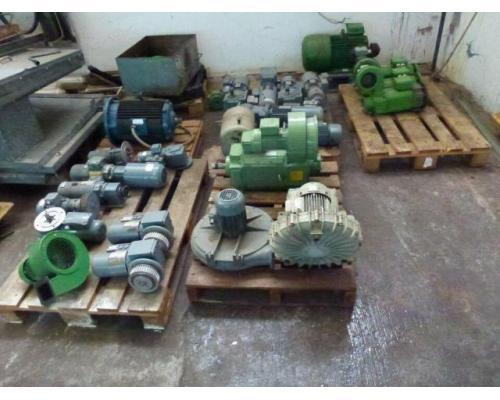 24 Elektromotore, Getriebemotore, Gleichstrommotore, Stellantrieb, 3 Kreiselpumpen 65W-18,5kW im Pak - Bild 1