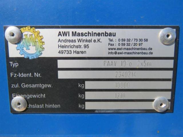 AWI | PDV 10 TO. 2 X 5 M - 1