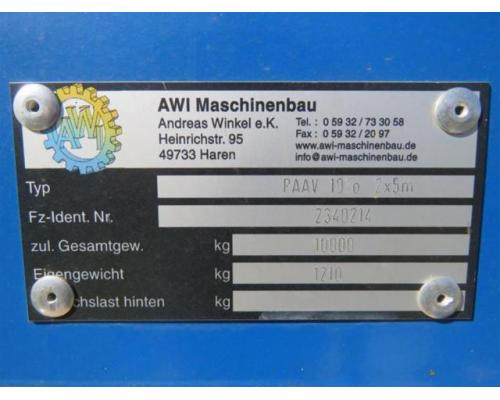 AWI | PDV 10 TO. 2 X 5 M - Bild 1