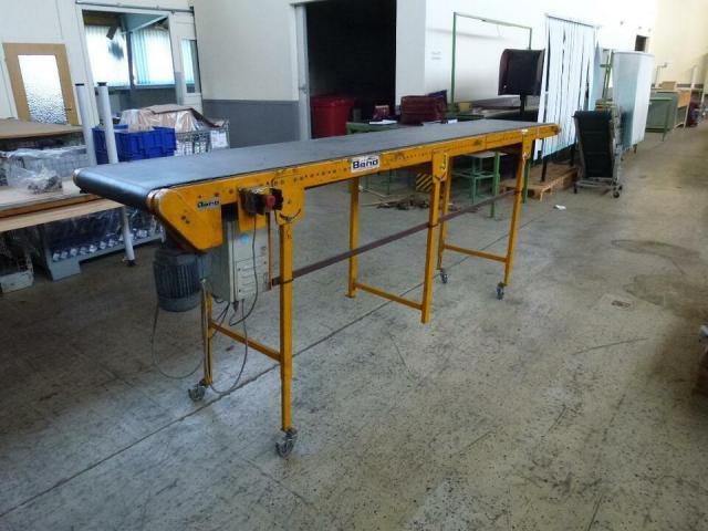Förderband Gurtförderer 300x50x115cm 0,25 kW in Höhe und Winkel verst. - 1