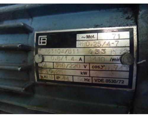 Förderband Gurtförderer 300x50x115cm 0,25 kW in Höhe und Winkel verst. - Bild 3