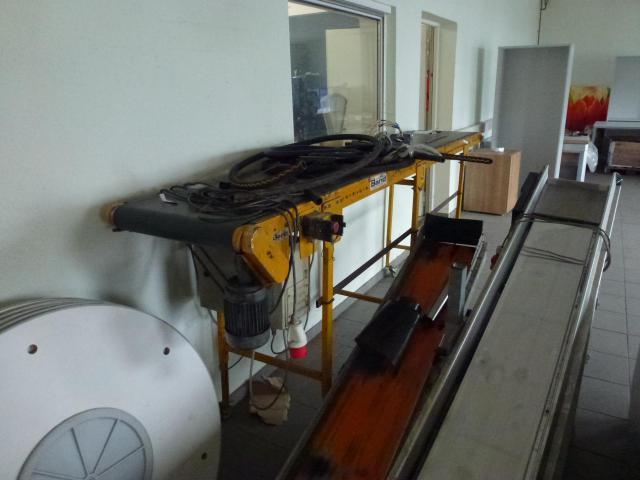 Förderband Gurtförderer 300x50x115cm 0,25 kW in Höhe und Winkel verst. - 5