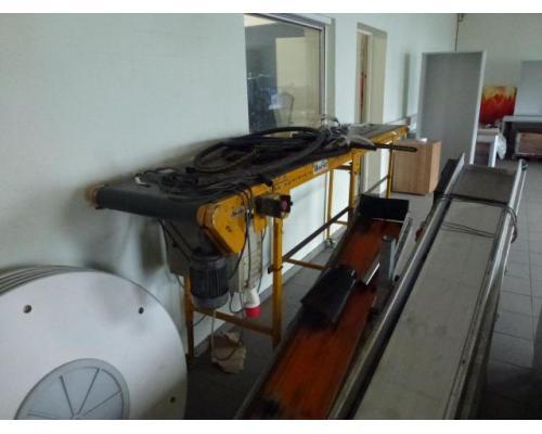 Förderband Gurtförderer 300x50x115cm 0,25 kW in Höhe und Winkel verst. - Bild 5