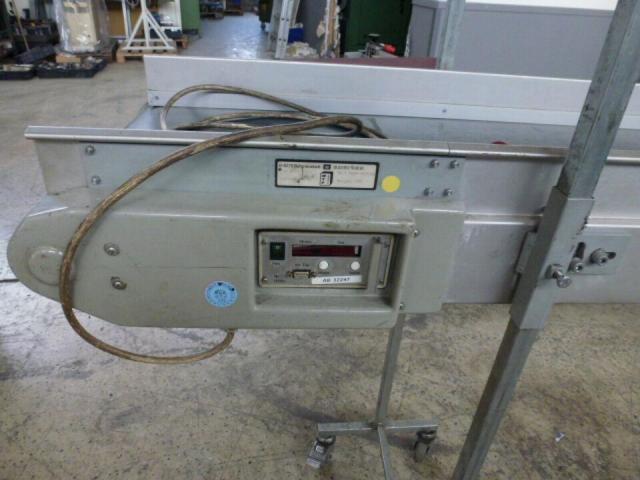 Förderband Gurtförderer 300x50x115cm 0,25 kW in Höhe und Winkel verst. - 8