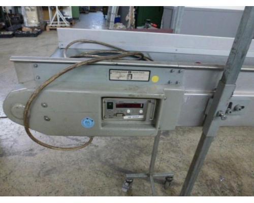 Förderband Gurtförderer 300x50x115cm 0,25 kW in Höhe und Winkel verst. - Bild 8