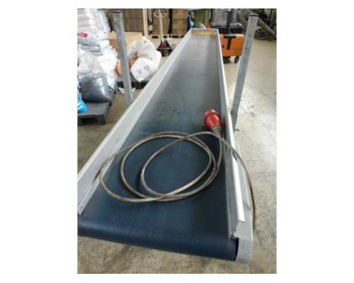 Förderband Gurtförderer 300x50x115cm 0,25 kW in Höhe und Winkel verst. - Bild 9