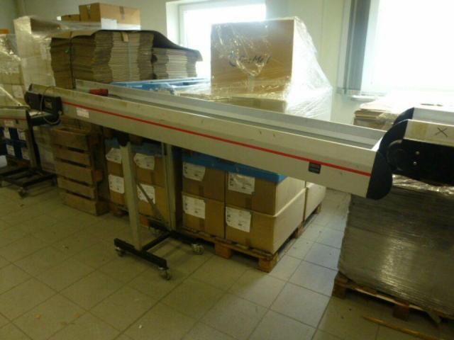Förderband Gurtförderer 300x50x115cm 0,25 kW in Höhe und Winkel verst. - 11