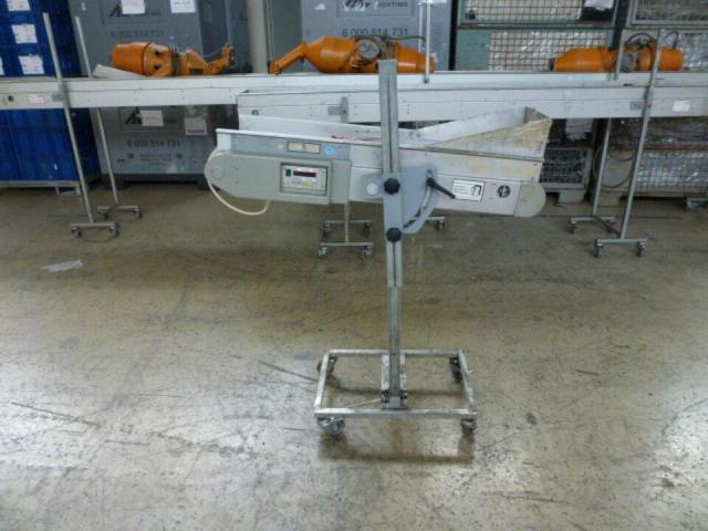 Förderband Gurtförderer 300x50x115cm 0,25 kW in Höhe und Winkel verst. - 12