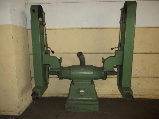 Doppel Bandschleifmaschine Heidenau SEPN 5/5p6 + 30 Bänder LS309X - 1