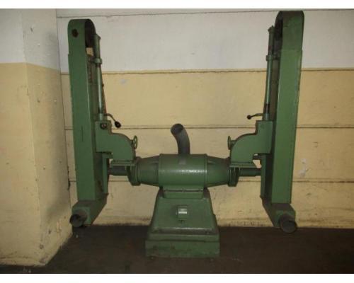 Doppel Bandschleifmaschine Heidenau SEPN 5/5p6 + 30 Bänder LS309X - Bild 1