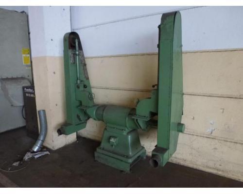 Doppel Bandschleifmaschine Heidenau SEPN 5/5p6 + 30 Bänder LS309X - Bild 2
