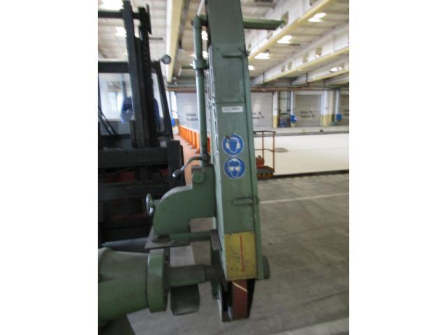 Doppel Bandschleifmaschine Heidenau SEPN 5/5p6 + 30 Bänder LS309X - 3