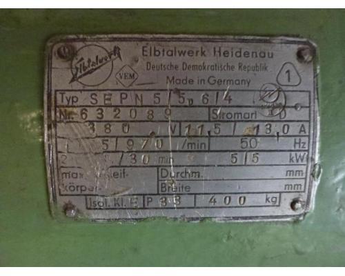 Doppel Bandschleifmaschine Heidenau SEPN 5/5p6 + 30 Bänder LS309X - Bild 7