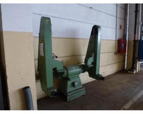 Doppel Bandschleifmaschine Heidenau SEPN 5/5p6 + 30 Bänder LS309X - Bild 8
