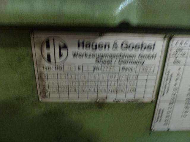 Doppel Bandschleifmaschine Heidenau SEPN 5/5p6 + 30 Bänder LS309X - 10