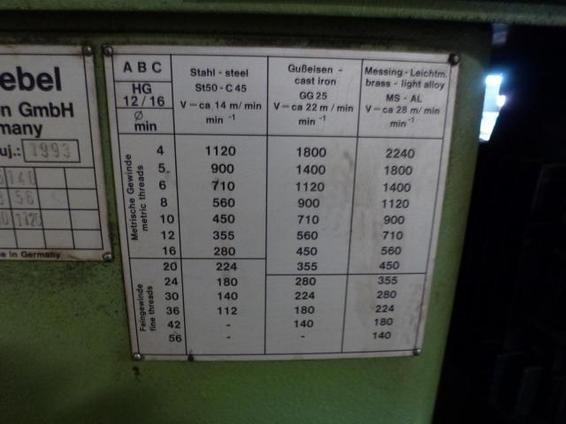 Doppel Bandschleifmaschine Heidenau SEPN 5/5p6 + 30 Bänder LS309X - 11