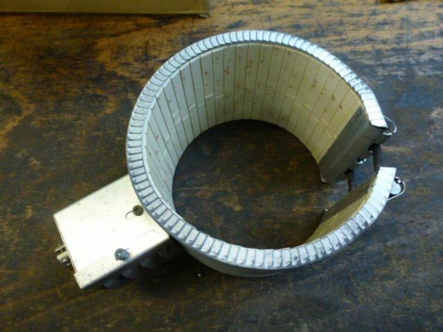 Heizband Heizmanschette Zylinderh Krauss Maffei 130mmx110mm 3200W - 1