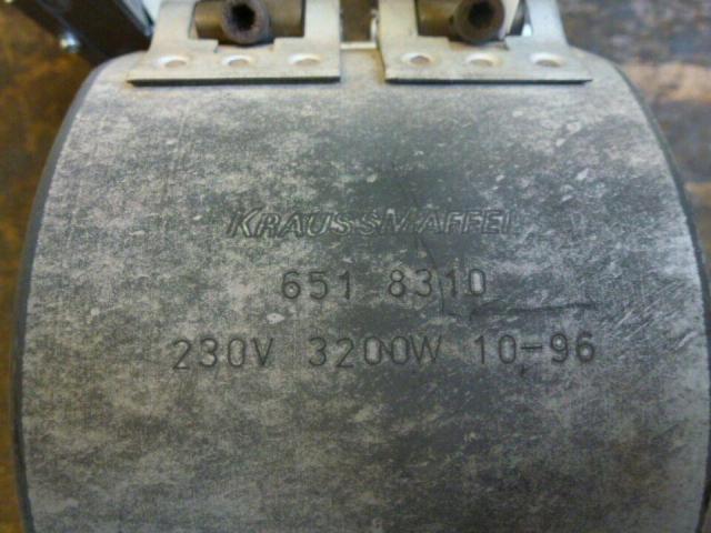 Heizband Heizmanschette Zylinderh Krauss Maffei 130mmx110mm 3200W - 3