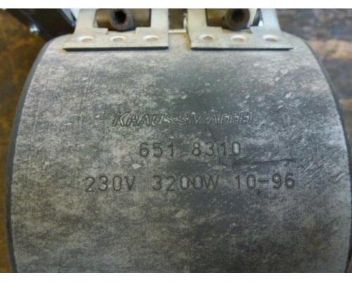 Heizband Heizmanschette Zylinderh Krauss Maffei 130mmx110mm 3200W - Bild 3