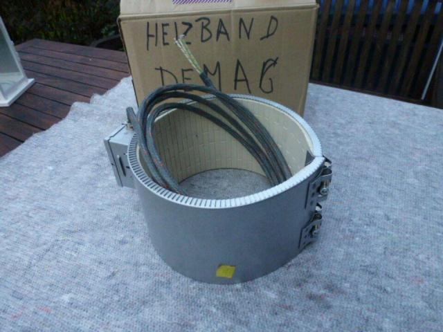 Heizband Heizmanschette Zylinderh Krauss Maffei 130mmx110mm 3200W - 10