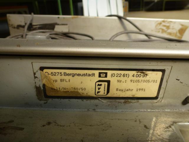 Förderband Gurtförderer MTF MTF Technik BergneustadtBand reparaturbe. - 3