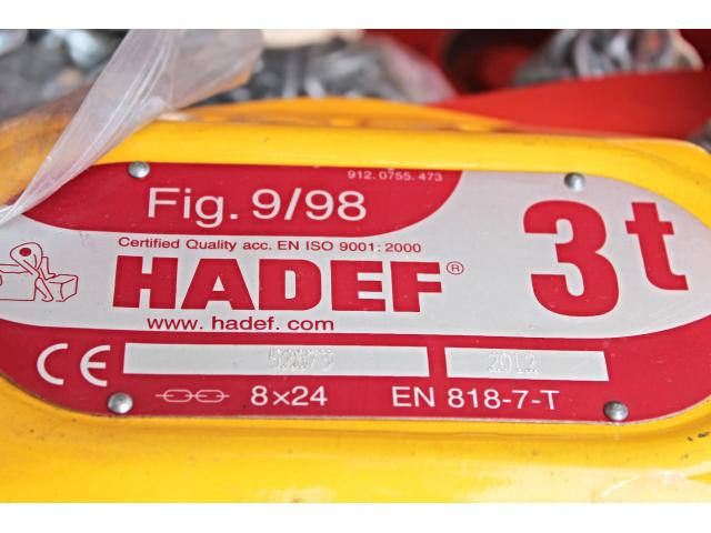 Hadef 24/98 HH Fig.9/98 3 to - 7