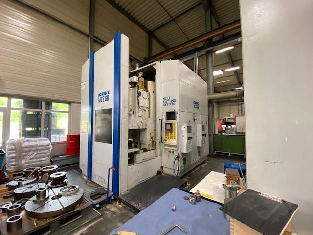 CNC Zahnradstoßmaschine MCS 60 - 11