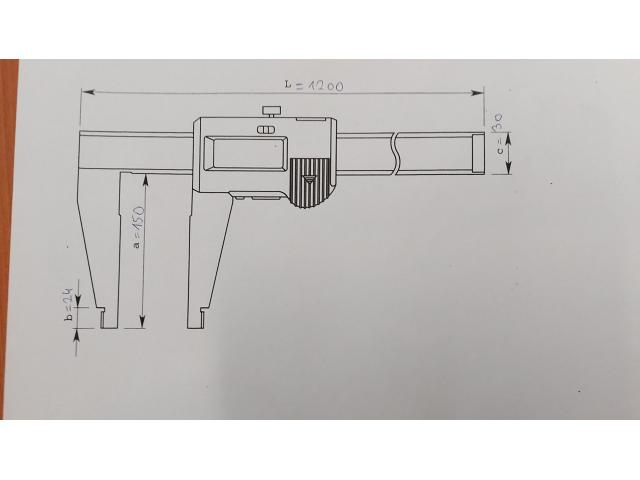 Messschieber CFC-100G - 5