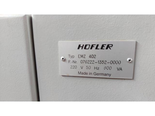 CNC - gesteuertes Mehrkoordinaten - Zahnradmesszentrum Nr. 35 EMZ 402 - 6