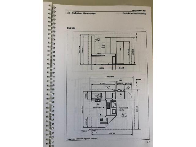 CNC - gesteuertes Mehrkoordinaten - Zahnradmesszentrum Nr. 35 EMZ 402 - 9
