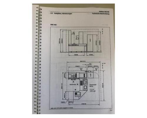 CNC - gesteuertes Mehrkoordinaten - Zahnradmesszentrum Nr. 35 EMZ 402 - Bild 9