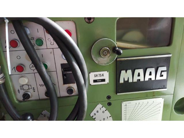 Zahnrad Hobelmaschine Nr.8 SH 75 K - 4