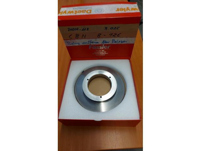 Diamantabrichtscheiben R:025 7070:118 CBN B-126 - 1