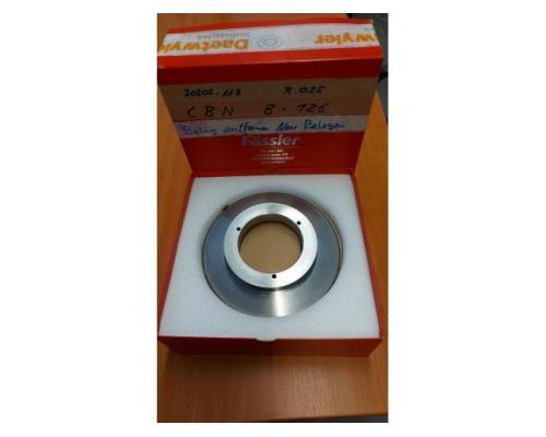 Diamantabrichtscheiben R:025 7070:118 CBN B-126 - Bild 1