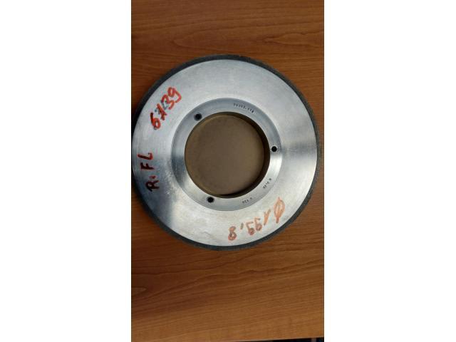 Diamantabrichtscheiben R:025 7070:118 CBN B-126 - 3
