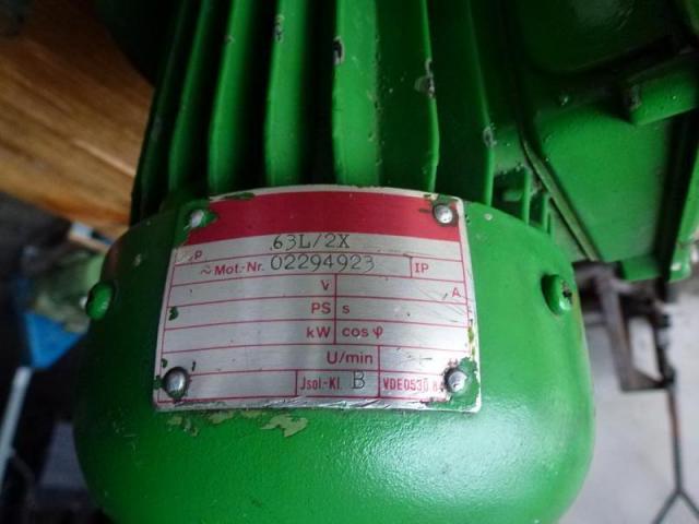 Elektromotor Evic MSZ 152 220/380 V 4,0 kW 14401/min Welle 24 mm - 5